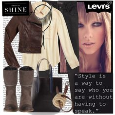 """Levi's - ""Dress to Shine"""" by karineminzonwilson on Polyvore"
