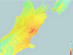 ShakeMap for the M7.5 Kaikoura / Culverden earthquake on 14/11/2016 (New Zealand)