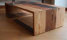 Image result for coffee table using found objects