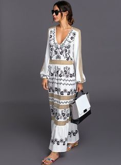 General Multicolor Day Dresses Elegant As Picture None Polyester Round Neckline Shift Dress Spring Long Sleeve Maxi XS Summer Floral Fall S M L XL Dress Affordable Dresses, Trendy Dresses, Simple Dresses, Women's Fashion Dresses, Elegant Dresses, Dress Outfits, Casual Dresses, Long Dresses, Maxi Dresses