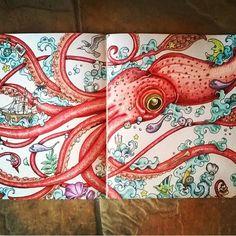 Animorphia by @piahultin #doodles #mandala #art #arttherapy #doodlemorphia #animorphia #doodleinvasion #kerbyrosanes #coloring #painting #coloringbook #arteterapia