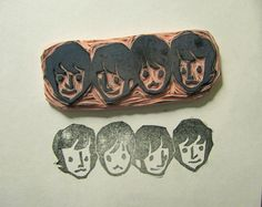 Beatles stamp...