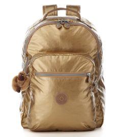 Kipling Seoul laptop backpack #metallic