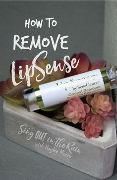 Knowing how to remove LipSense is everything! Oops Remover by SeneGence is the #1 way and a short video is included so you know how to do it correctly.  Once you do - you'll never use another remover.  #lipsense #oopsremover