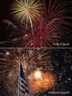 Tips on how to photography fireworks! Shall have to try this once I can find a tripod...