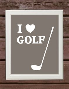 #golf I love golf! GOLF really rocks! @Joanne Garza i love this one for sure for a poster we can customize it or have it be the one everyone signs