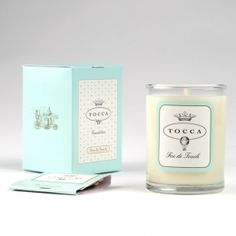 Havana travel candle by Tocca, amazing fragrance Scented Candles, Candle Jars, Candle Holders, Cooking Timer, Havana, Rum, Fragrance, Beautiful Things, Words