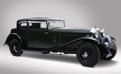 1932 Bentley 8-Litre Short Chassis Fixed Head Coupe