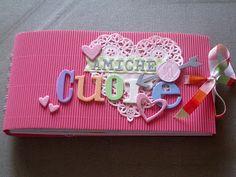 paperandco: Minialbum in rosa