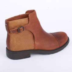 Camper Mil Womens Ankle Boots in Tan