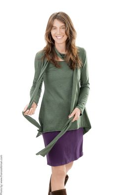 Hemp, Winter Fashion, Tunic Tops, Collections, The Originals, Fall, Nature, Women, Style