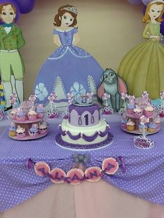 Sofia the First Birthday Party Ideas