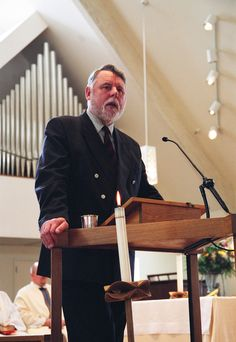 Terry Waite preaches at All Saints Episcopal Church, Salt Lake City, Utah, early He was held hostage in Lebanon several years after trying to negotiate a peace on behalf of the Archbishop of Canterbury. Episcopal Church, Early 2000s, Canterbury, Salt Lake City, All Saints, Lebanon, Utah, Peace, All Saints Day