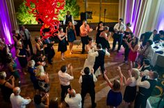 Partying in the Autorino Great Hall Photo by Kasey Mason Photography