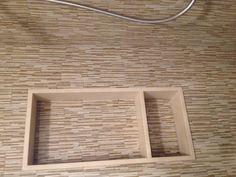 Shower tile idea  Niche detail