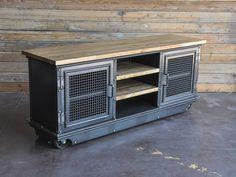 Boxcar Ellis Console – Vintage Industrial Furniture