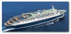 STELLA SOLARIS--Royal Olympic Cruise Line--lovely old cruise ship for our trip to Greece and Turkey