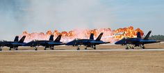 Blue Angels Homecoming Airshow - NAS Pensacola, Florida by fisherbray, via Flickr