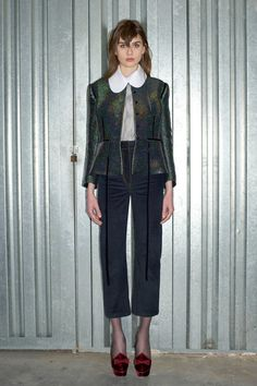 Isa Arfen Fall 2016 Ready-to-Wear Fashion Show Collection