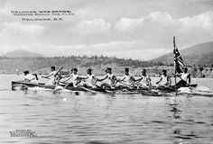 Kelowna War Canoes on Okanagan Lake, BC https://canoeguybc.files.wordpress.com/2014/09/a032333-v6.jpg