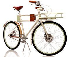 Sexy Electric Bike: the Faraday Porteur