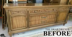 This drab Drexel Buffet/Sideboard/credenza what ever you want to call it. Drexel is a brand that is still around today. It features strong quality construction,…