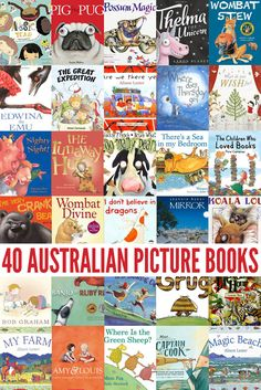 40 Australian Picture Books by Our Favourite Australian Authors