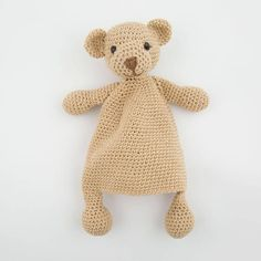 ★★★★★★★★★★★★★★★★★Pointelle Shop★★★★★★★★★★★★★★★★★ Cute and charming handmade Ragdoll Bear can become a perfect friend for your child.Even though the body is flat It will still become an irreplaceable toy for your child! Remember that I made it with love and lots of inspiration! Crochet
