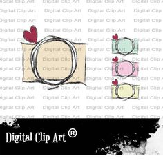 Photographer logos Camera clip art for by graphicswithlove