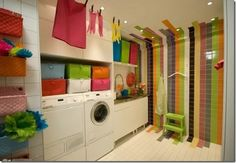 Laundry Room...In LOVE with this!