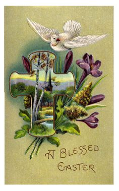 free vintage religious easter cards easter ideas pinterest