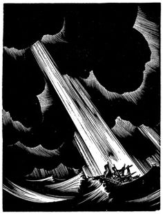 Lynd Ward's amazing woodcut book storm.