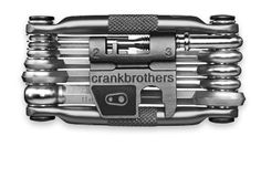 Crank Brothers Multi-17 tool. Great form and function in a beautiful package.