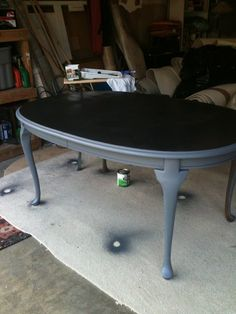 LOVE THIS. Going to try and do this to my table. Refurbished ...