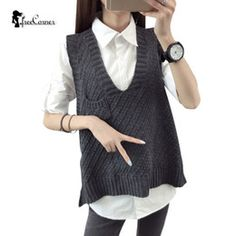 Image result for women knitted vest