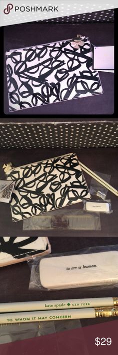 sassy kate spade pencil pouch well they never had a pencil