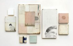 Fragment Installation by Jane Hambleton | artsy forager #art #mixedmedia