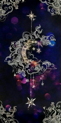 crescent moon, mandala drawings, backgrounds for girls, purple background Cute Backgrounds, Wallpaper Backgrounds, Wallpaper Ideas, Natur Wallpaper, Painting Wallpaper, Pretty Wallpapers, Beautiful Wallpaper For Phone, Trendy Wallpaper, Moon Art