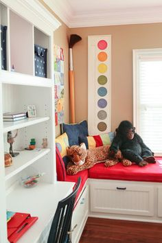 Craft Room For Kids Design Ideas, Pictures, Remodel, and Decor - page 6 Boys Room Design, Craft Room Design, Kids Bedroom Designs, Playroom Design, Playroom Ideas, Classroom Walls, Classroom Decor, Design Eclético, Design Ideas