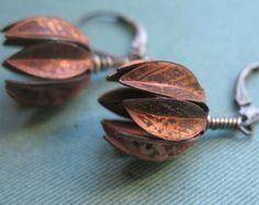 Perennial Earrings. $20.00, via Etsy.