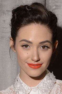 Emmy Rossum's Beauty Game Is On Point