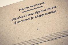 Creative Modern Wedding Guest Book Ideas Nicole + Stevens Wedding Day Details