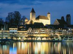 Canton of St. Gallen, Lake Zurich, Switzerland - Pixdaus