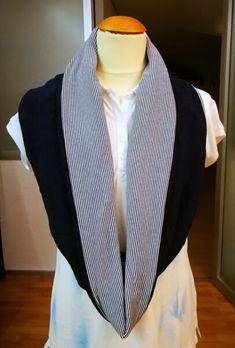 Loop-Schal Blazer, Sweaters, Jackets, Fashion, Letter B, Scarves, Children, Down Jackets, Moda