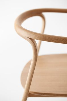 Bent Wooden Chair Design Japanese design studio Nendo
