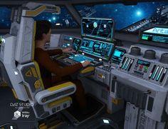 """Résultat de recherche d'images pour """"scifi ship cockpit"""""""