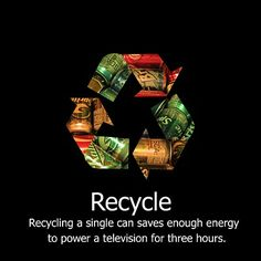 How do we educate ourselves about the importance of recycling?