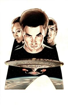 Star Trek by BenCurtis