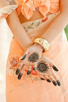 lovely #heena - mehendi design