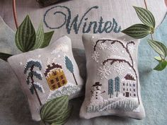 "By The Bay Needleart: New Design For a ""Chilly Winter"""